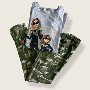 Mama and Me Long Sleeve Outfit